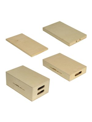 Applebox Family Camuse Grip Wooden Plates
