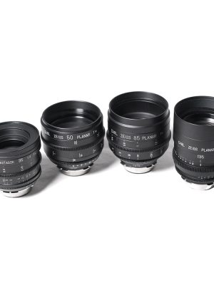 Zeiss High Speed Full Frame Cine Lenses
