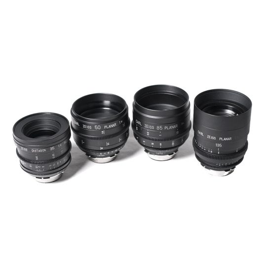 Zeiss High Speed Full Frame Cine Lenses